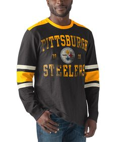 Love this Pittsburgh Steelers Champion Slub Jersey Tee - Men's Regular by NFL on #zulily! #zulilyfinds