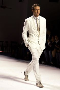 what shoes to wear with white suit - Google Search