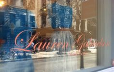 If you are ever in NYC you have to stop in at Lauren's shop in Nolita...she is an MSU grad and her clothes are gorgeous