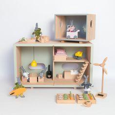 12 Casas de muñecas