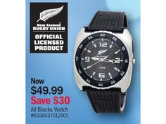 All Blacks Watch $49.99 *Prices subject to change