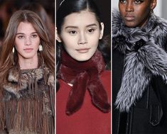Except for the pearls, and maybe the belts, I think these new trends are just plain ugly! Fall/ Winter 2015-2016 Accessory Trends: Trendy Scarves