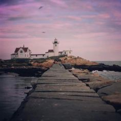 Eastern Point Lighthouse Gloucester Ma Breakwater | Chrisemer Photography