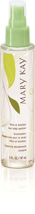 #MaryKay Lotus & Bamboo Deo Body Spritzer is light enough to indulge in several times a day.