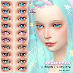 [STAR EYES]DOWNLOAD/MediaFire* Face Paint categoly.微妙な差しかないものあります。色偏ってますすみません。you can use it as you want.please enjoy it.色追加したり直したりなんでもお好きなようにお使いください。thank you forLips /http://kl2al2is.tumblr.com/Hair/http://www.maysims.com/3DLashes,skintone/http://kijiko.catfood.jp/