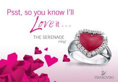 ♥ Serenade me... #SwarovskiLOVE
