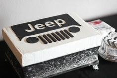 Jeep cake~ By Sprinkle Bakes, black, white, sheet, square