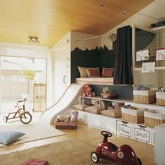 kid's play room or bedroom  Hmm I wonder if I can do this