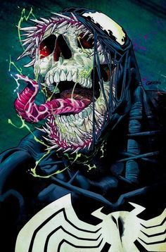 "You are watching the movie Venom on Putlocker HD. When Eddie Brock acquires the powers of a symbiote, he will have to release his alter-ego ""Venom"" to save his life. Venom Comics, Marvel Dc Comics, Marvel Fanart, Marvel Venom, Marvel Villains, Marvel Vs, Marvel Characters, Marvel Heroes, Amazing Spiderman"