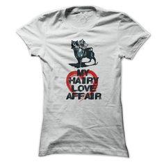 Awesome Tee My Hairy Love Affair! T-Shirts