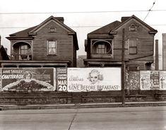 Houses in Atlanta. March 1936.