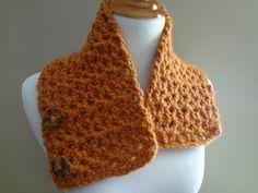 Fiber Flux...Adventures in Stitching: Free Crochet Pattern...Butternut Squash Neckwarmer!