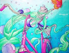 the bicycle colouring book journey to the edge of the world by shan jiang colortherapy coloringmasterpieces coloring_secret desenhoscolorir - Bicycle Coloring Book