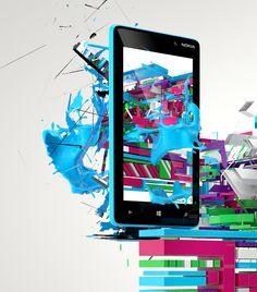 Nokia Lumi (concept art) by Agencja Kreatywna Pompidou , via Behance