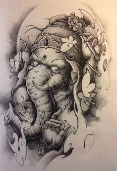 elefanten tattoo intim