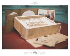 Custom Wedding Memories Box by Odd!Life Studios