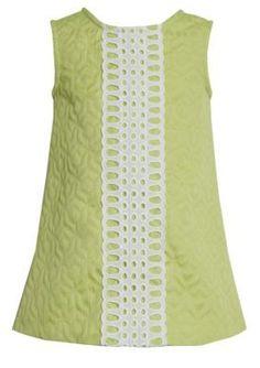 Bonnie Jean  Clooney Chunky Lace Coat  Dress
