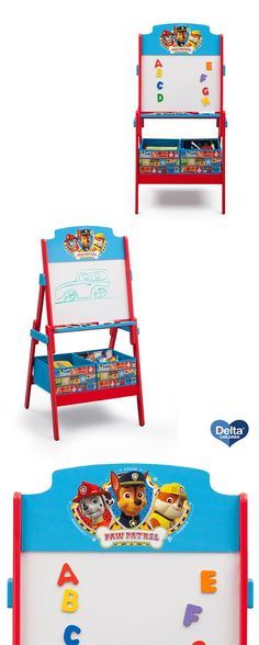 A Necessity For Any PAW Patrol Fan This Activity Easel From Delta Children