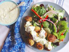 Falafel is a Middle Eastern favorite, and this healthier version uses protein-rich quinoa instead of chickpeas. Tasty and full of healthy energy!