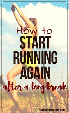 Trying to start running again after taking time off can be frustrating. These tips will help you return to running after a long break with ease and success!