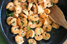 Cilantro Lime Shrimp Recipe - might try this, force myself to like some sort of seafood...