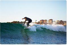 Morning slides @ Bondi, photo Uge@aquabumps