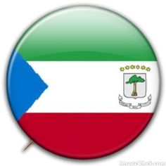 Equatorial Guinea flag badge