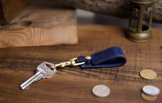 Italian leather go with high-quality bronze hardware, muiti-function Keychain, mobile phone stand & cable retractor. Phone Stand, Leather Keychain, Italian Leather, Cable, Hardware, Bronze, Cabo, Leather Key Holder, Cords