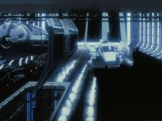 The paintings of Star Wars matte painter Frank Ordaz
