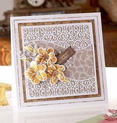 Downton Abbey Ornate Filigree Dies - #Dies #Cardmaking #Crafting #Hobbies #Arts #Hochanda #Crafts #Pens #Hobby #Art #lifestyle #CraftersCompanion #DowntonAbbey - www.hochanda.com/