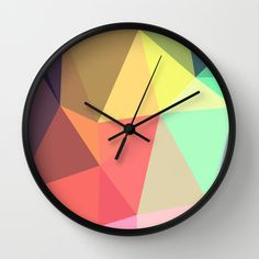 peace Wall Clock by Contemporary - $30.00 http://society6.com/product/peace-tDb_Wall-Clock#33=28434=286