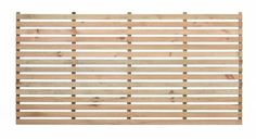 45/15 Slatted Panel | Pre-Painted | FSC Timber | Garden Trellis Direct