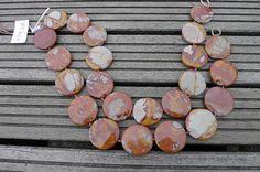 Noreena Jasper Round disc beads