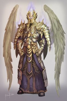 angels in armor Fantasy Warrior, Angel Warrior, Dark Fantasy Art, Fantasy Rpg, Fantasy Artwork, Male Angels, Angels And Demons, Character Inspiration, Character Art