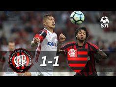 Atlético-PR 1 x 1 Flamengo - Melhores Momentos - Campeonato Brasileiro 2017  Menos mal que o Mengão não perdeu ☺/