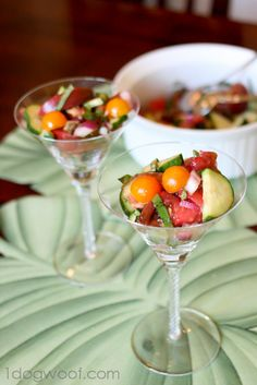 Simple Summer Tomato Salad: Serve it up as a sweet but simple summer meal or toss some for yourself.