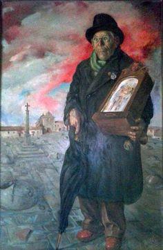 """Josep Mayol Hernández: """"Don Manolito"""" (1940) - Subasta Real"""