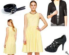 Schöne Kleider für Hochzeitsgäste + Outfit Tipps: http://www.kleider-deal.de/schoene-kleider-fuer-hochzeitsgaeste-sommerliche-gelbe-outfit/ #Hochzeitsgäste #Kleider #Hochzeit #Dress #Outfit #gelb #Sommer