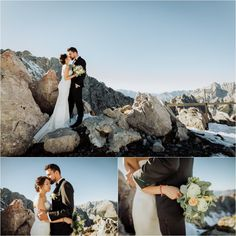 Kelly and Arike embrace on top of the Nordkette Hafelekar mountain in Innsbruck by Wild Connections Photography Wedding Shoot, Wedding Tips, Wedding Planning, Innsbruck, Wedding Photo Inspiration, Wedding Locations, Mount Rushmore, Connection, Scenery