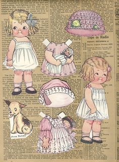 Vintage Paper Dolls | Flickr - Photo Sharing!