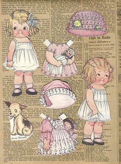 Vintage Paper Dolls   Flickr - Photo Sharing!