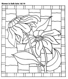 Use for miniature faux stained glass Stained Glass Quilt, Stained Glass Flowers, Faux Stained Glass, Stained Glass Designs, Stained Glass Panels, Stained Glass Patterns, Mosaic Patterns, Pocket Letter, Glass Painting Patterns