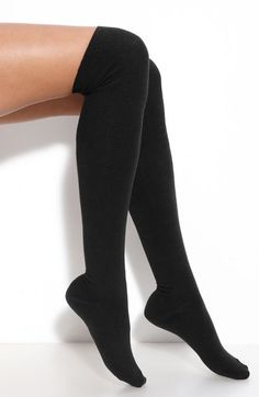 Ribbed Over The Knee Socks