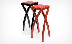 Super stools - play mind games with your sense of balance!