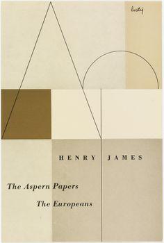 """the aspern papers, the europeans"" henry james - alvin lustig"