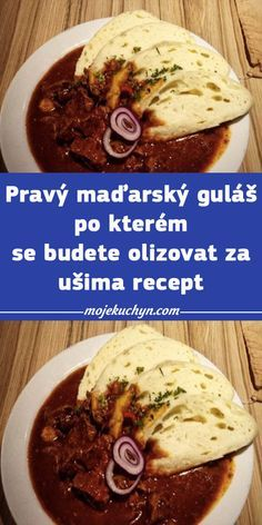 Czech Recipes, Pork Tenderloin Recipes, Food And Drink, Beef, Snacks, Meat, Cooking, Red Peppers, Pork Sirloin Recipes