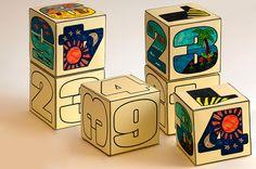 Creation Cube Sunday School Craft