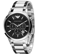Emporio Armani Mens Watch AR2434  Visit:https://www.watchista.co.uk/collections/armani-men/products/emporio-armani-mens-watch-ar2434
