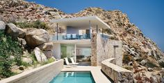 Steven Harris Architects LLP - Casa Finisterra - same house & pool, different view, stunning setting.