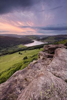Bamford Edge, Peak District. Lovely drive via the Snake Pass to this amazing site where they had practiced 'bombing the dam' years ago.
